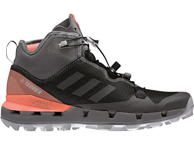 online store 57f3b 379fa adidas TERREX Fast Mid GTX Scarpe Donna grigio arancione